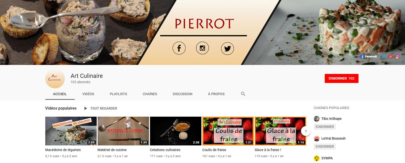 ★★★ Le Vidéaste à l'Honneur #19 | Pierrot | Venez critiquer cette chaîne ! Honneu10