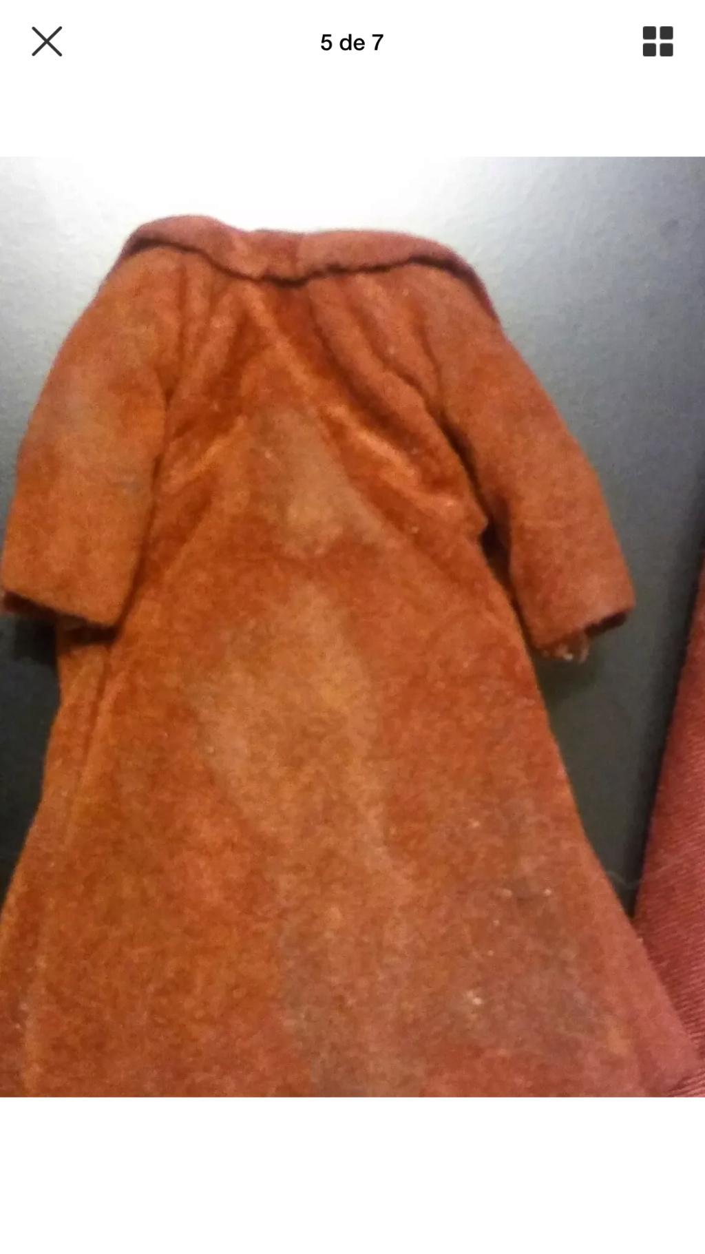 Lili Ledy Bib Fortuna Burgundy Coat complete Figure 7a067110