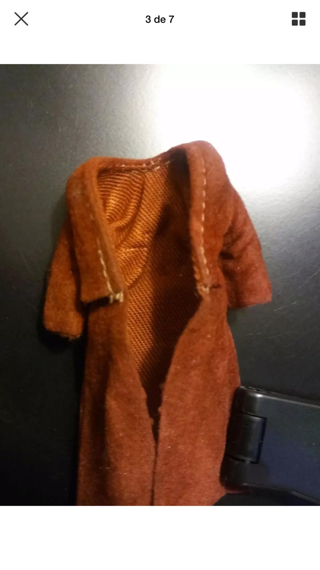 Lili Ledy Bib Fortuna Burgundy Coat complete Figure 7fa33210