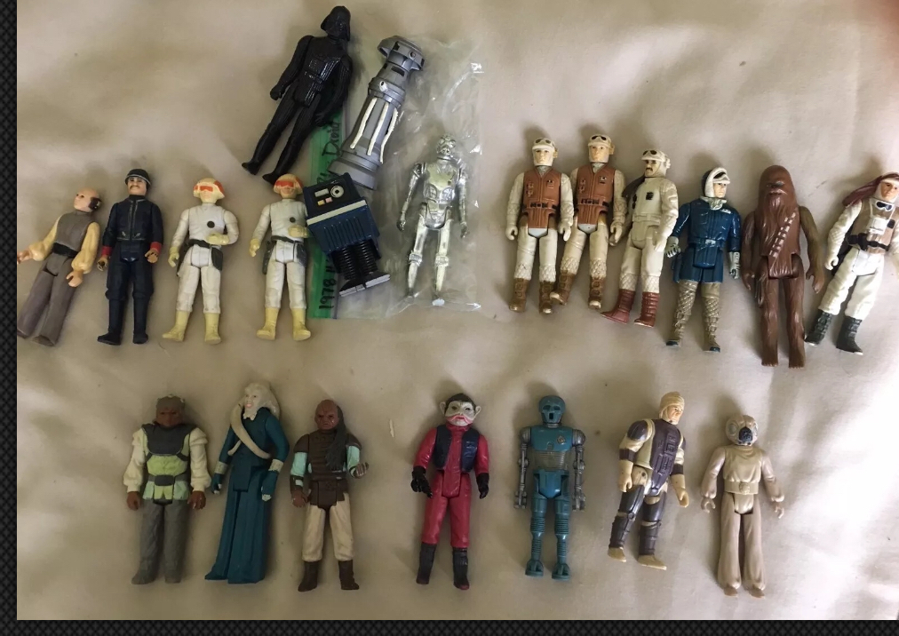 WTT 21 vintage figures for a Vintage Imperial Dignitary Last 17 A4924910