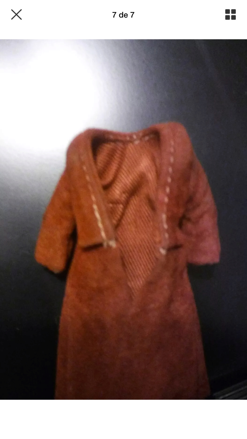 Lili Ledy Bib Fortuna Burgundy Coat complete Figure B550ce10