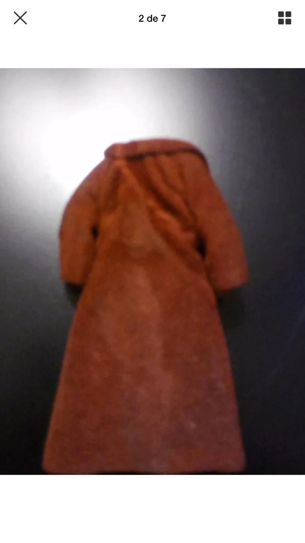 Lili Ledy Bib Fortuna Burgundy Coat complete Figure D50c7a10