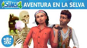 Los Sims 4 Aventura en la selva Descar10