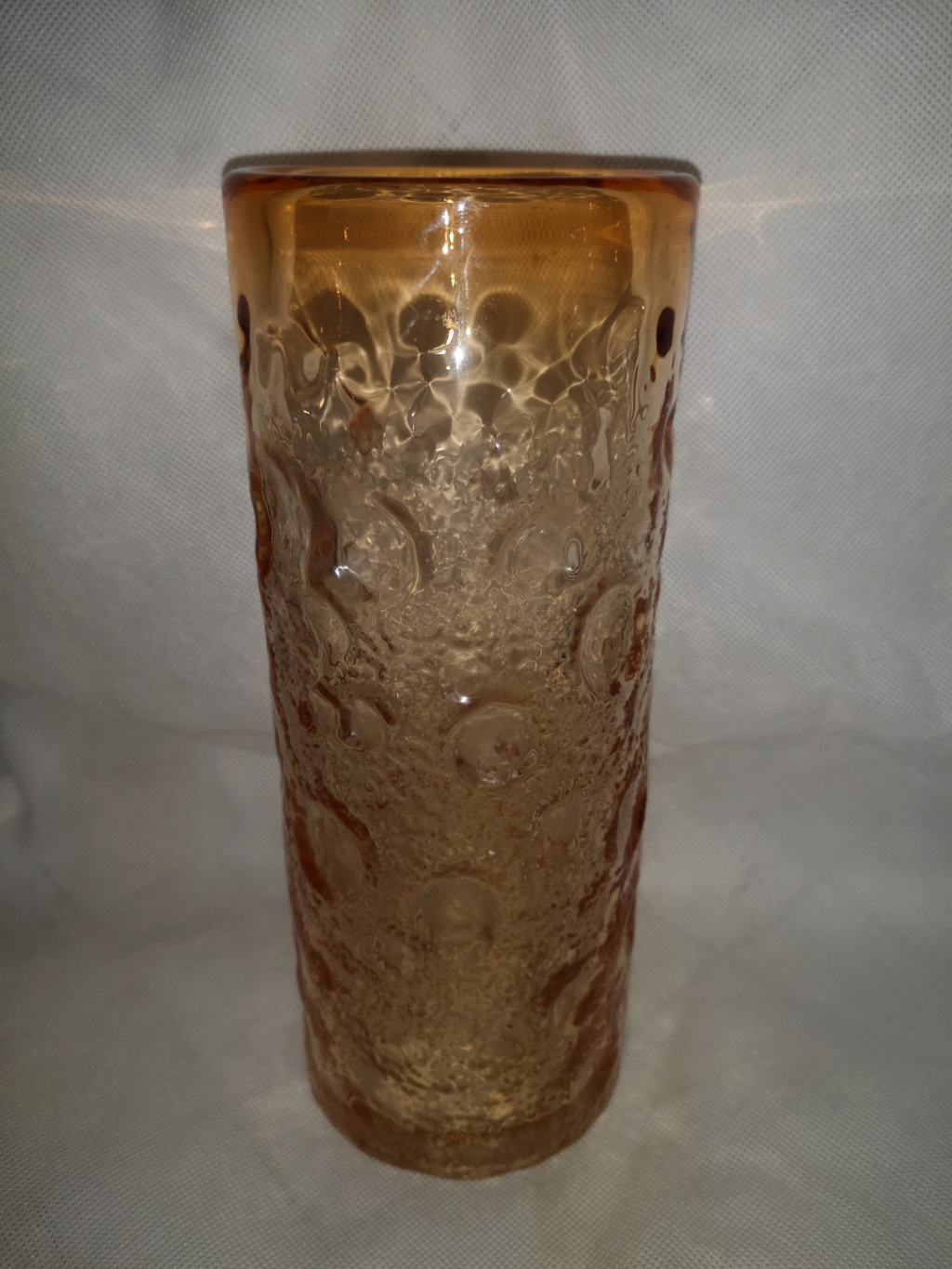 Possible whitefriars? glass vase please help id 15395711