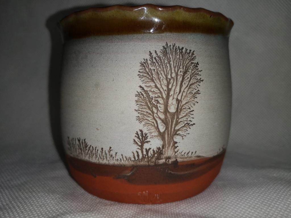 Mochaware decorated pot -  Mike Pollard 15395716