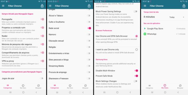 Filter Chrome: Nova solução para impedir pornografia no android (bloqueia modo de segurança) Teseee10