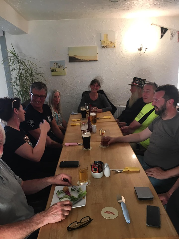 Pembrey Race Weekend - K Fest gathering Supper11