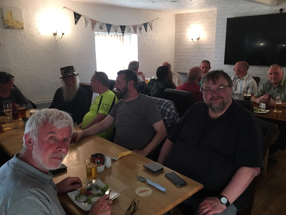 Pembrey Race Weekend - K Fest gathering Supper12