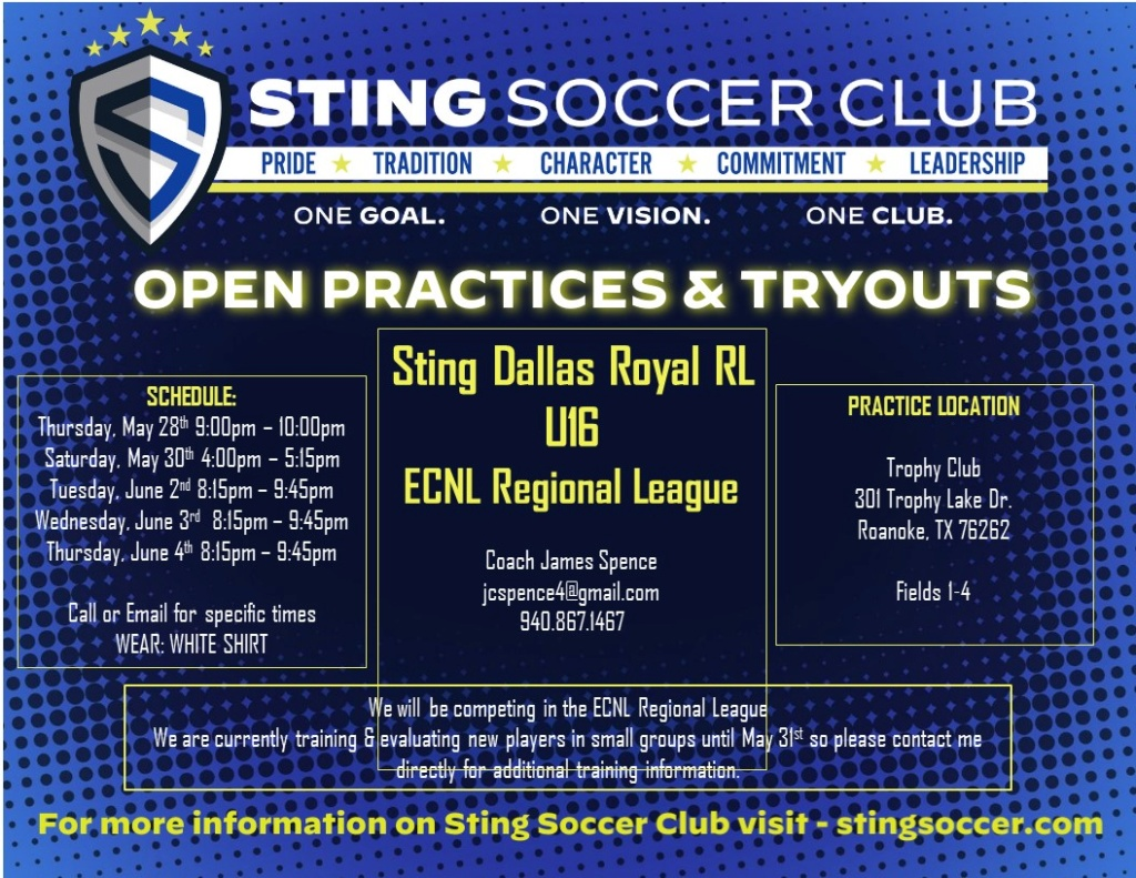 Sting Royal 05 ECRL - Open Try Outs Sting_16