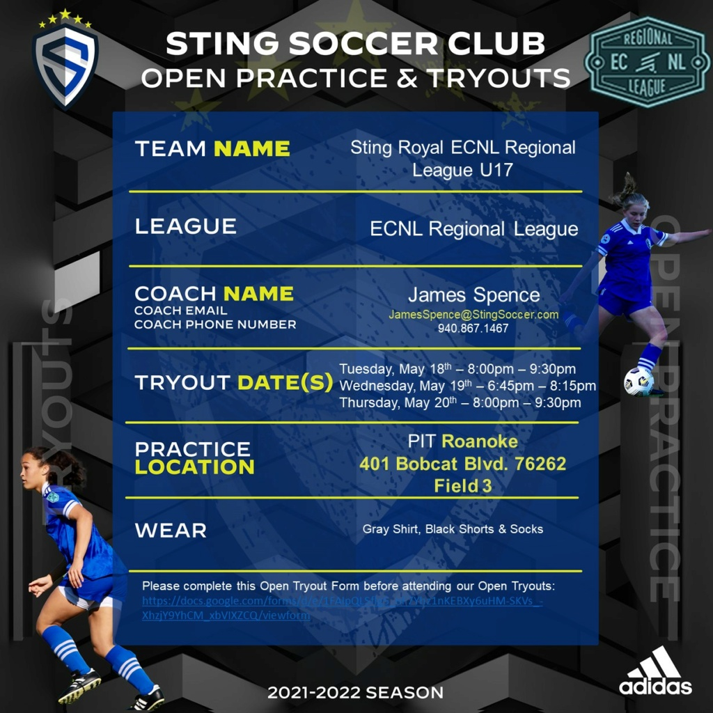 Sting Royal ECNL - Regional League - U17 Open Try Outs Sting_41