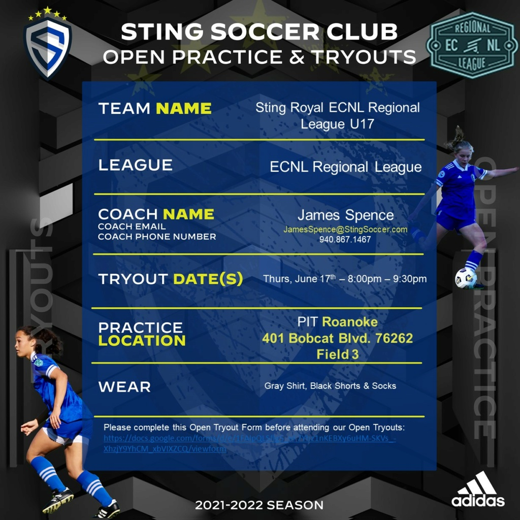 Sting Royal ECNL Regional League - Looking for 1 Sting_54
