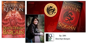 Sherrilyn Kenyon en Podcast  avec O&F Podcas10
