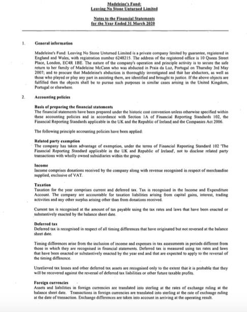 The Find Madeleine Fund - Page 4 Accoun16