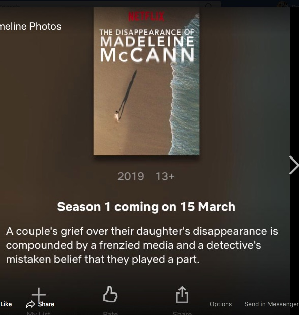 Netflix probes Madeleine McCann disappearance in new documentary - but parents Kate and Gerry want 'NOTHING to do' with controversial film - Page 4 Netfli10