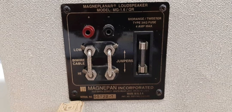 Magneplanar MG1.6 QR (used) Whats204