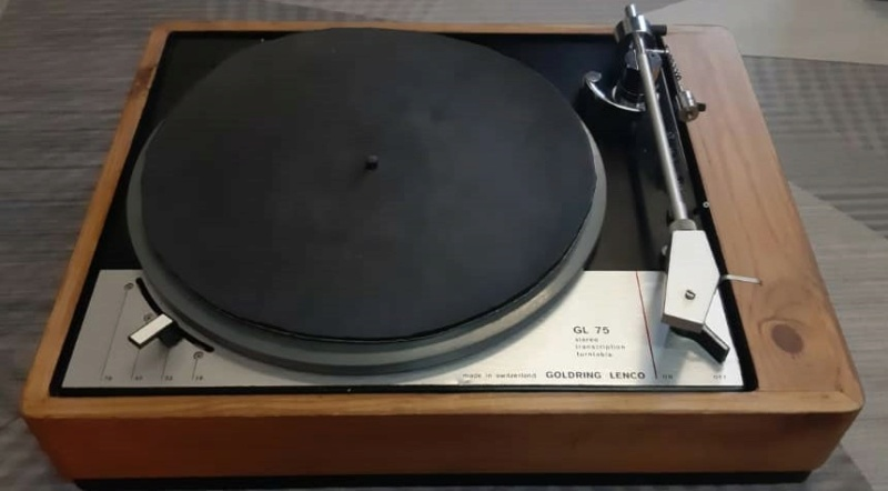Goldring Lenco GL75 turntable (used) SOLD Whats206