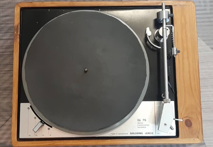 Goldring Lenco GL75 turntable (used) SOLD Whats207