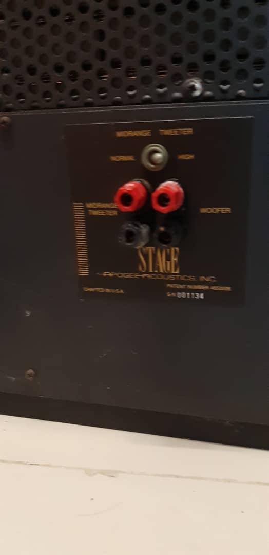 Apogee full range planar speaker (used) Whatsa41