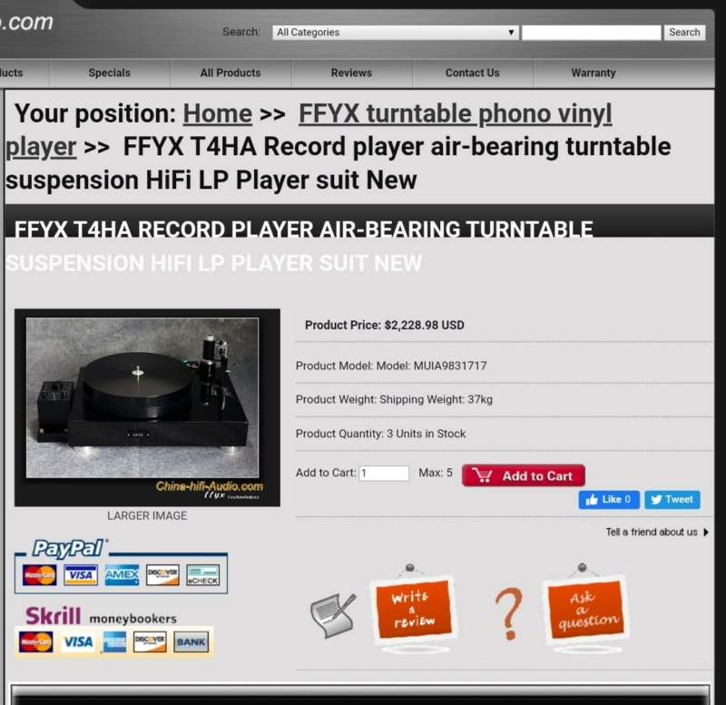 FFYZ high quality turntable (used) Whatsa87