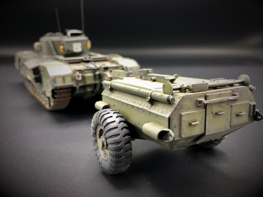 Churchill Crocodile Mk. VII w/ trailer _ Tamiya 1/35  Img_e967