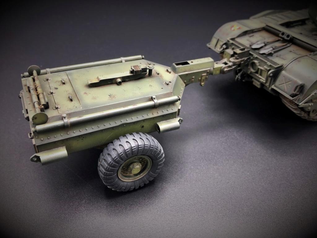 Churchill Crocodile Mk. VII w/ trailer _ Tamiya 1/35  Img_e968