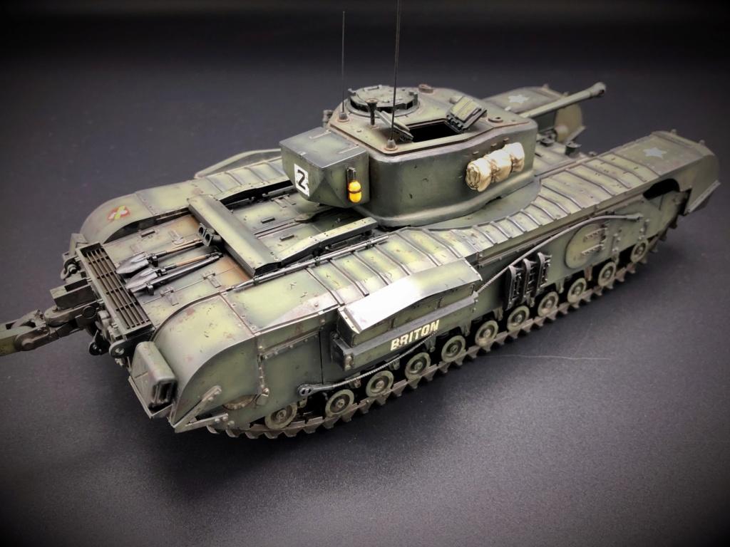 Churchill Crocodile Mk. VII w/ trailer _ Tamiya 1/35  Img_e969