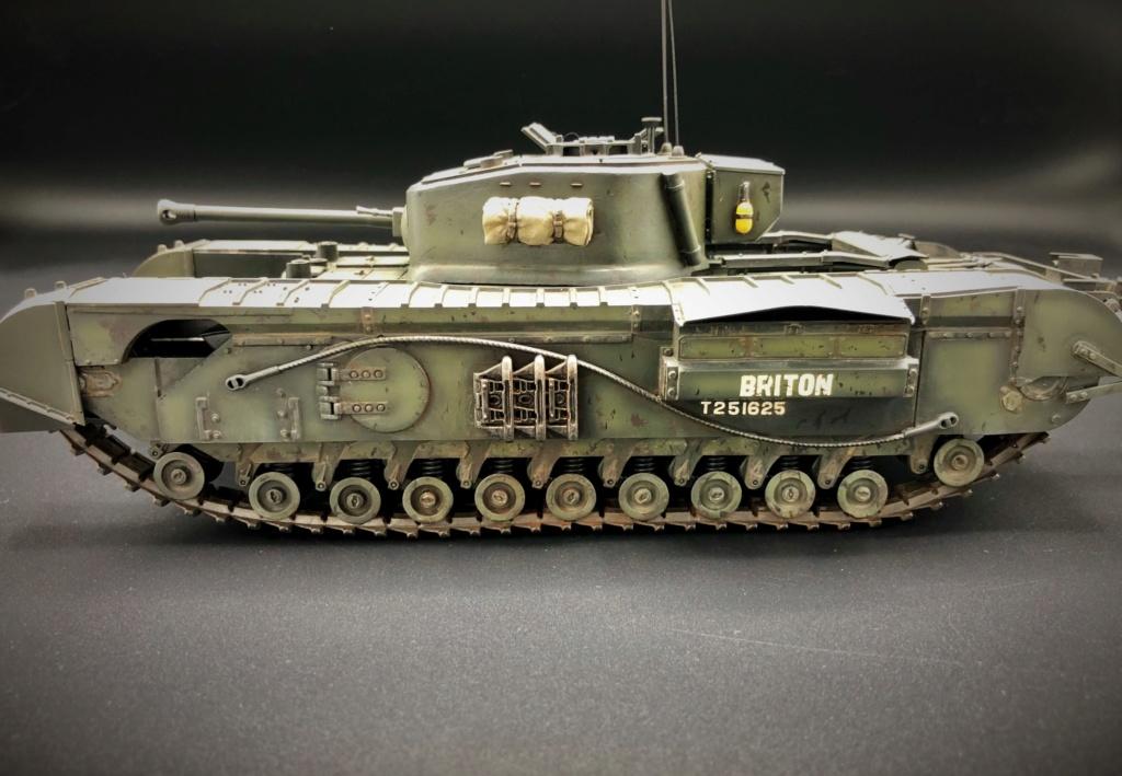 Churchill Crocodile Mk. VII w/ trailer _ Tamiya 1/35  Img_e971