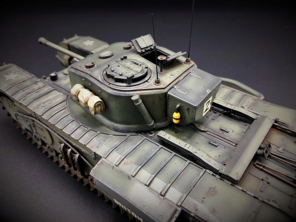 Churchill Crocodile Mk. VII w/ trailer _ Tamiya 1/35  Img_e972