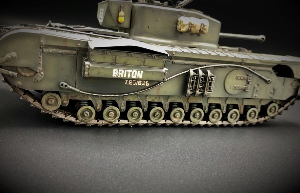 Churchill Crocodile Mk. VII w/ trailer _ Tamiya 1/35  Img_e973