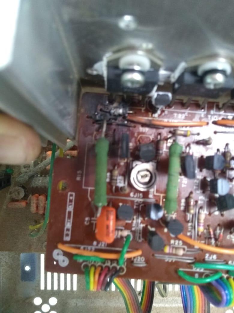 GRADIENTE RECEIVER R323 - PLACA DE SOM R32310