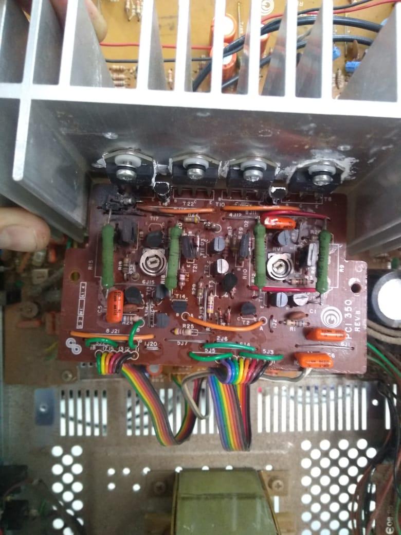 GRADIENTE RECEIVER R323 - PLACA DE SOM R323_210