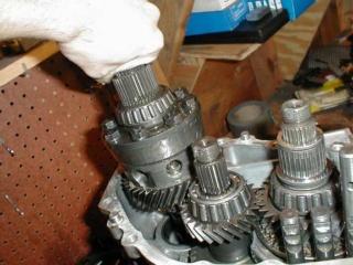 (2G GSX) - Rebuild Câmbio 3010