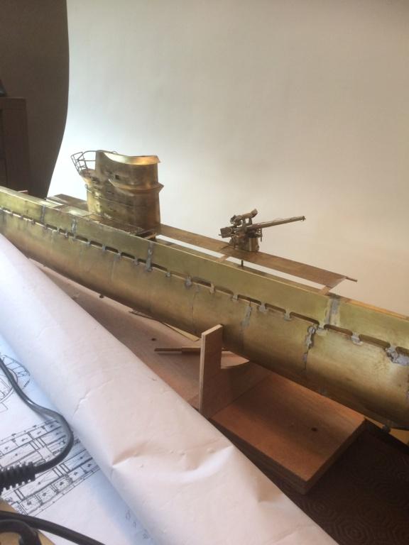 Sous-marin classe Daphné (scratch demi-coque 1/50°) par demicoque - Page 12 Img_2529