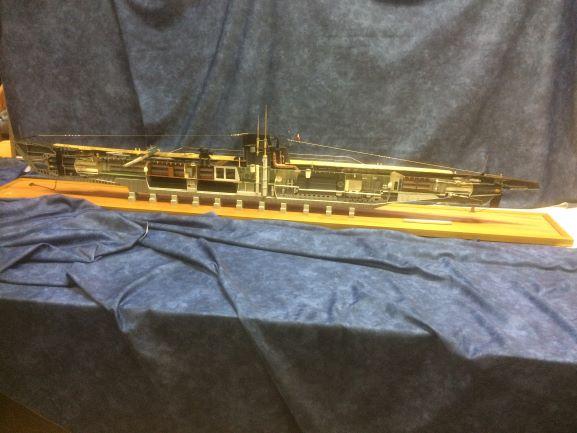 Sous-marin classe Daphné (scratch demi-coque 1/50°) par demicoque - Page 12 Img_3329