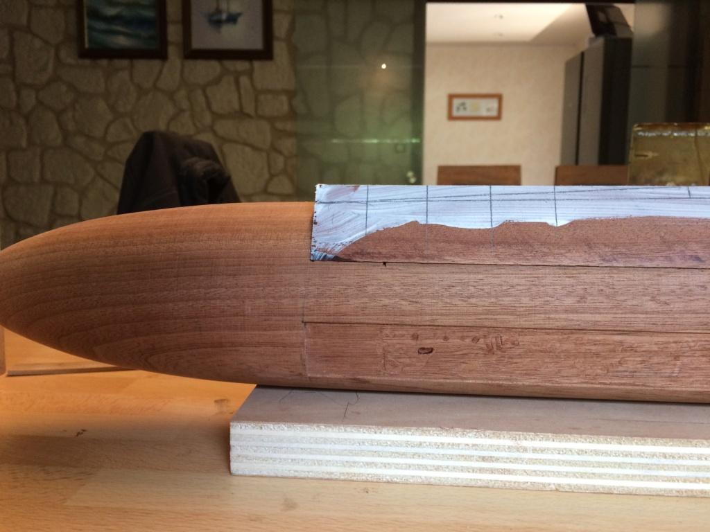 SNLE Le Triomphant (scratch bois 1/150°) de domicoque - Page 3 Img_9622