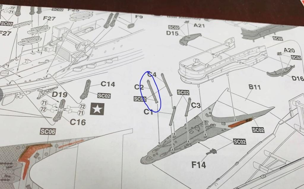 AKAGI 1/700 + kit super détaillage et pont bois - Page 2 00313