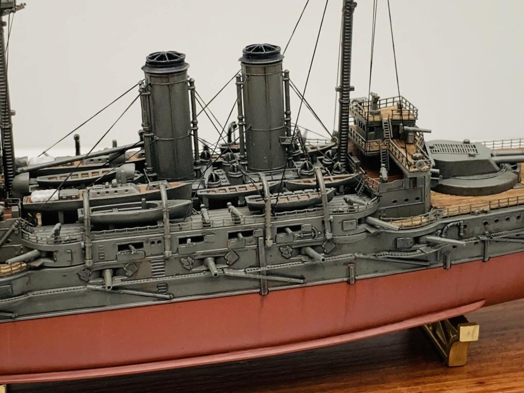 LE MIKASA 1/700 de HASEGAWA full hull + PE + wood deck 00512