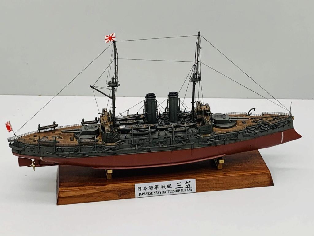 LE MIKASA 1/700 de HASEGAWA full hull + PE + wood deck 00612