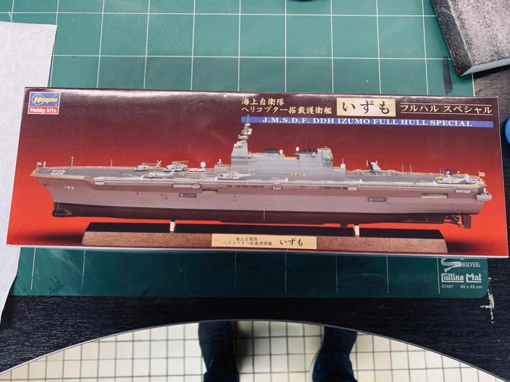 J.M.S.D.F DDH IZUMO FULL HULL SPECIAL - 1/700 HASEGAWA 00710