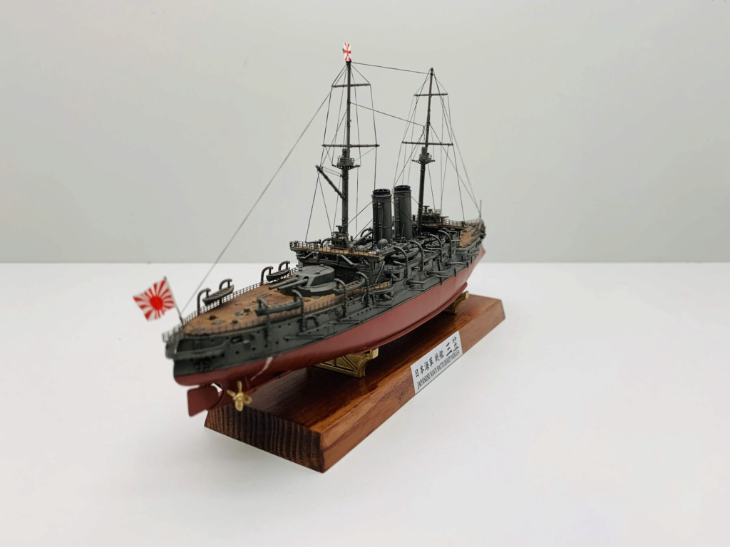 LE MIKASA 1/700 de HASEGAWA full hull + PE + wood deck 00813