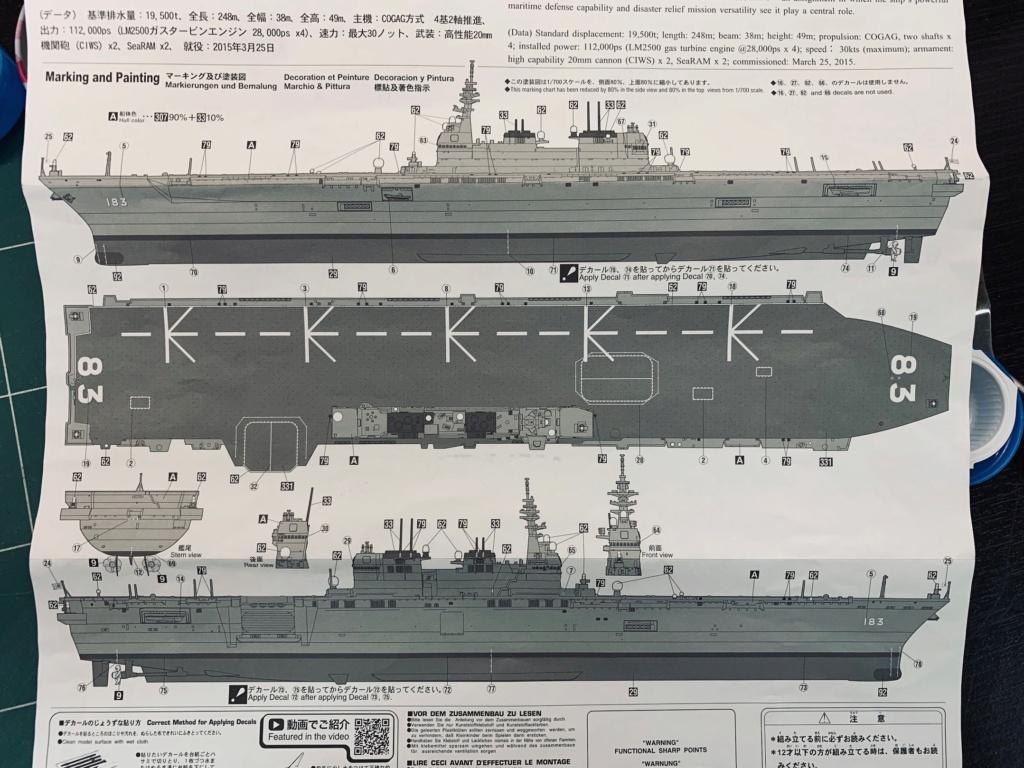 J.M.S.D.F DDH IZUMO FULL HULL SPECIAL - 1/700 HASEGAWA 00910