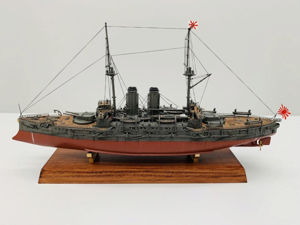 LE MIKASA 1/700 de HASEGAWA full hull + PE + wood deck 00912