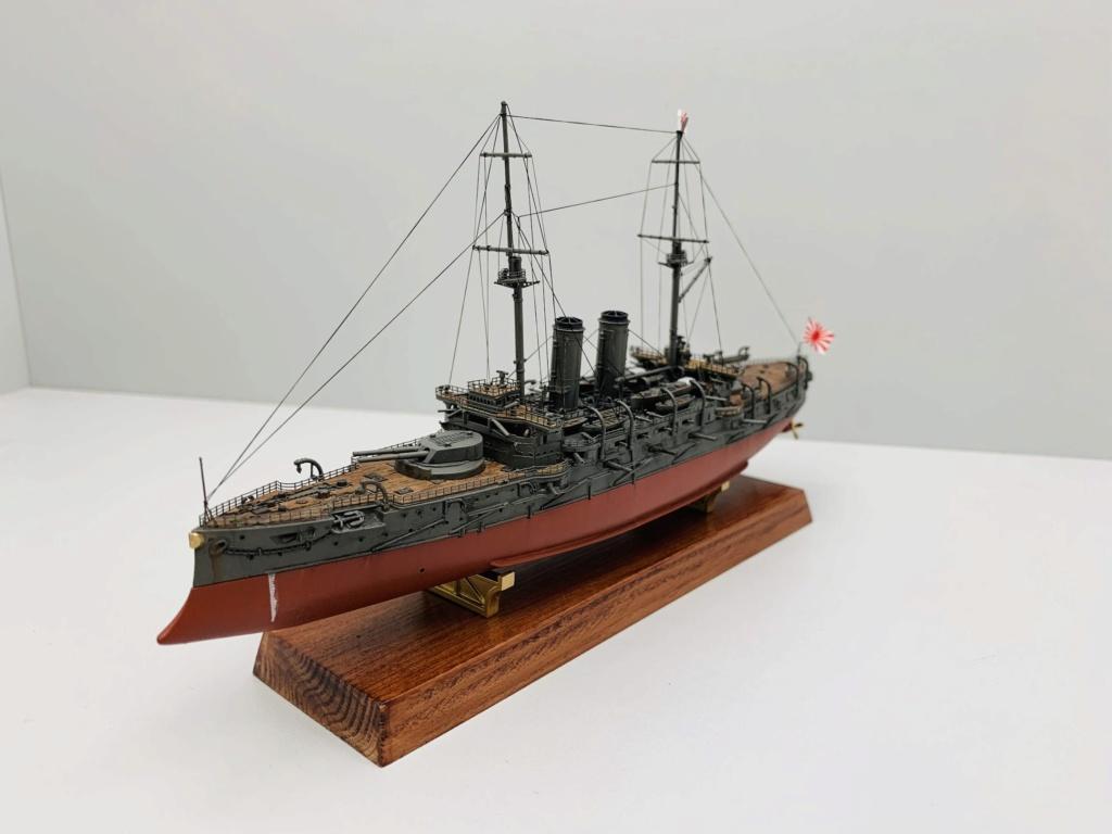 LE MIKASA 1/700 de HASEGAWA full hull + PE + wood deck 01112