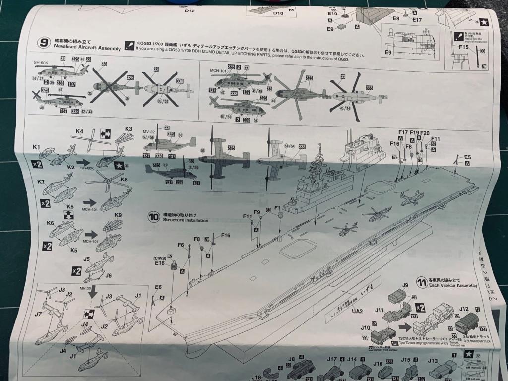 J.M.S.D.F DDH IZUMO FULL HULL SPECIAL - 1/700 HASEGAWA 01310