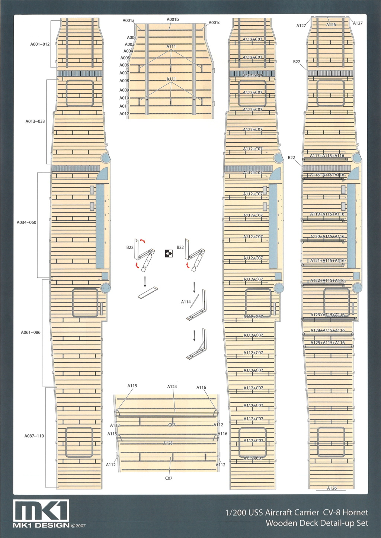 USS HORNET 1/200 MERIT + BIG ED Eduard + MK1 - Page 2 20190718