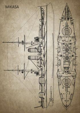LE MIKASA 1/700 de HASEGAWA full hull + PE + wood deck - Page 2 Af4f7810