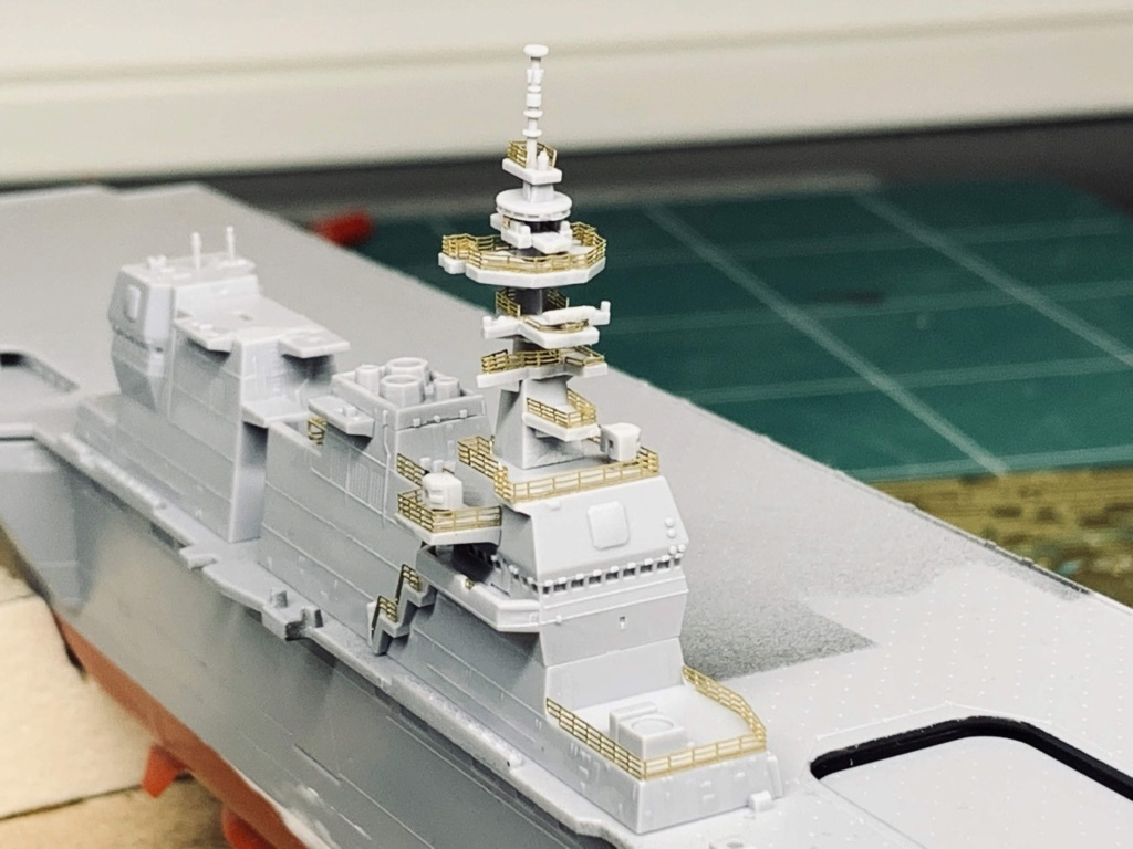 J.M.S.D.F DDH IZUMO FULL HULL SPECIAL - 1/700 HASEGAWA Img_0815