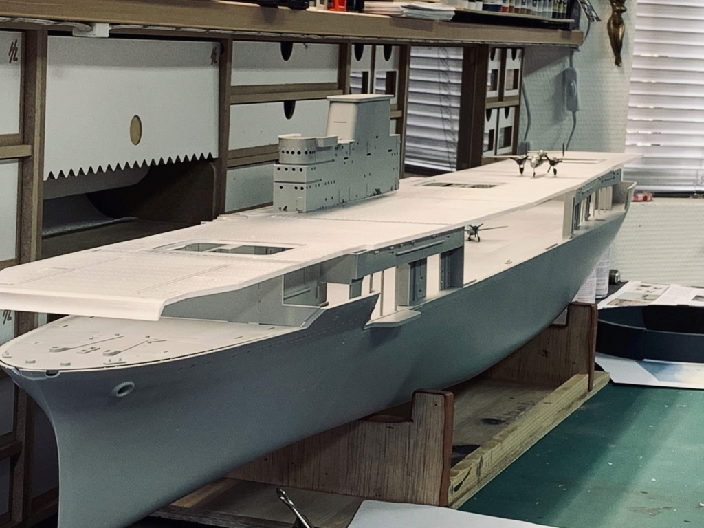 USS HORNET 1/200 MERIT + BIG ED Eduard + MK1 - Page 2 Img_1110