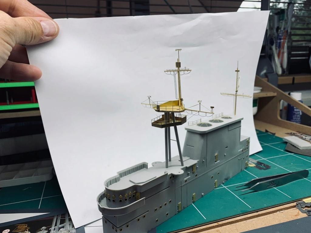 USS HORNET 1/200 MERIT + BIG ED Eduard + MK1 - Page 4 Img_1412