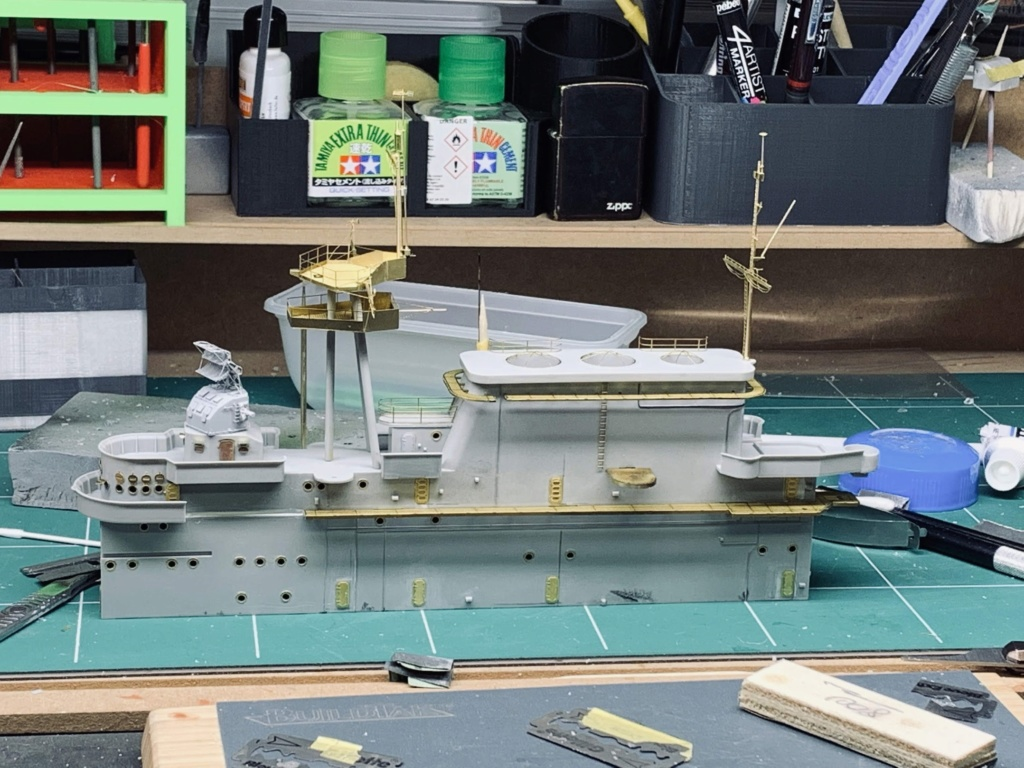 USS HORNET 1/200 MERIT + BIG ED Eduard + MK1 - Page 5 Img_1519